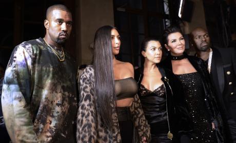 Kanye Looks Miserable