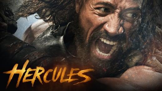 The Rock as Hercules