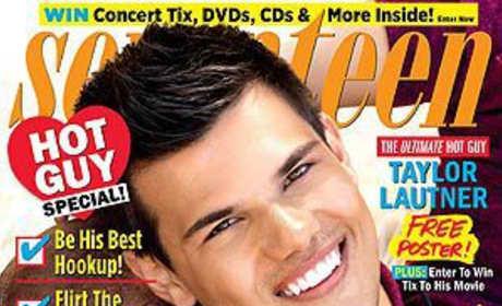 Taylor Lautner Seventeen Cover