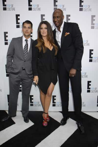 Khloe and Lamar and Rob