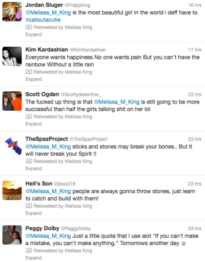 King M Tweets