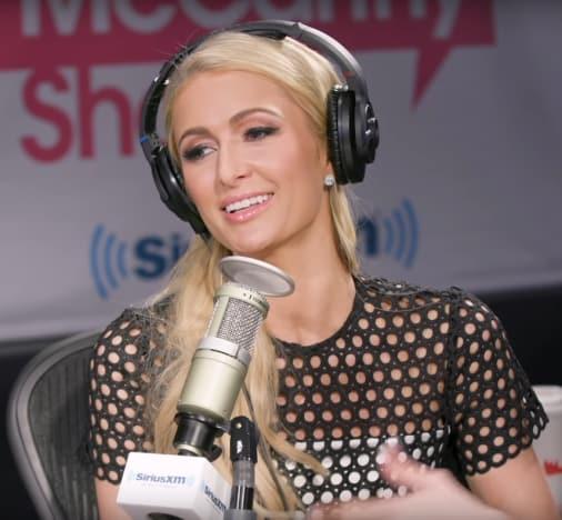 Paris Hilton Gets Interviewed