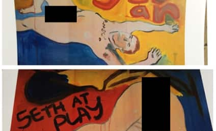 James Franco's Nude Seth Rogen Paintings Must Be Seen to be Believed