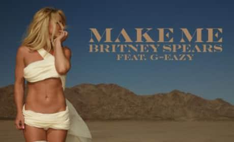 """Britney Spears """"Make Me"""" Art"""