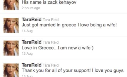 Tara Reid: Actually Married to Zack Kehayov!