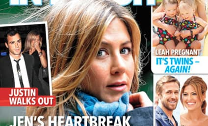 Jennifer Aniston: Dumped By Justin Theroux?!