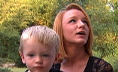 Maci Bookout and Bentley Edwards