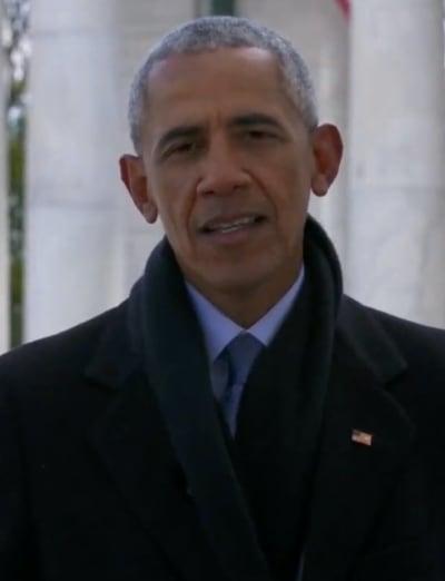 Barack Obama on January 20