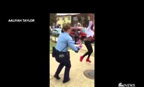 Teen Takes on Cop in Epic Dance-Off