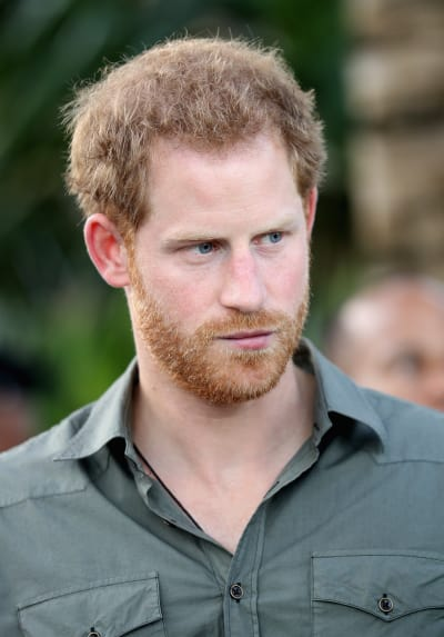Prince Harry Turns Serious