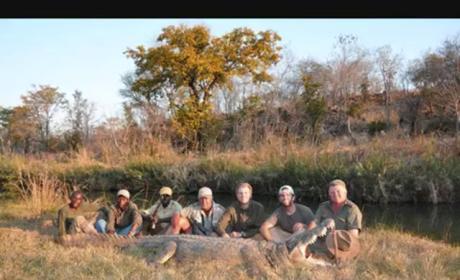 Donald Trump Kids Go Hunting, Kill Elephant (Photos)