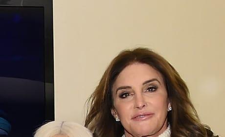 Kim Kardashian and Caitlyn Jenner