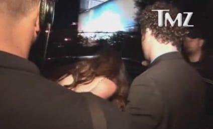 Paz de la Huerta at Golden Globes After-Party: Denied!