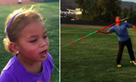 Olympian Pulls Tooth With Javelin