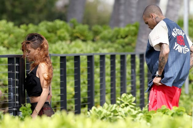 Rihanna and Chris Brown Chill in Hawaii