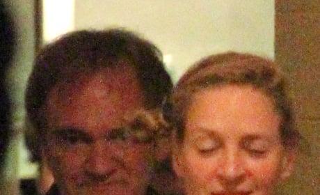 Quentin Tarantino and Uma Thurman Photo