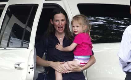 Jennifer Garner and Daughter Violet: Out in Boston
