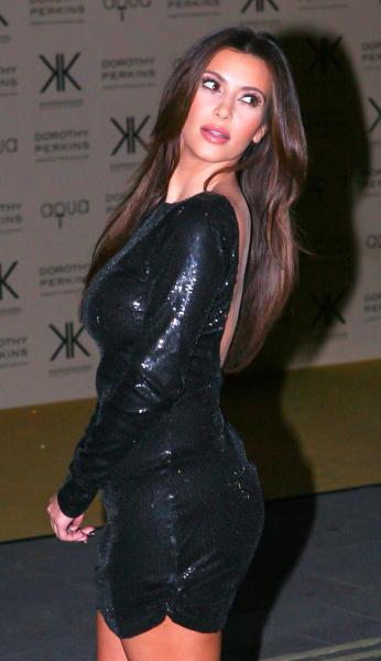 Kim Kardashian Dress