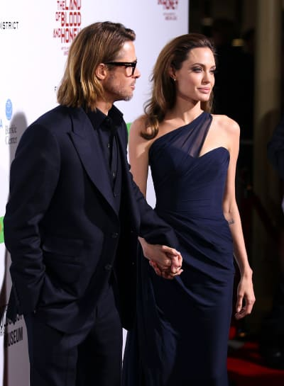 Brad Pitt With Angelina
