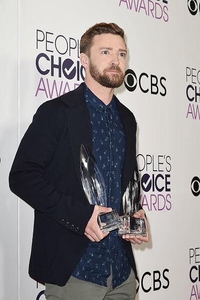 Justin Timberlake at the People's Choice Awards