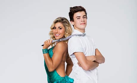 Hayes Grier and Emma Slater