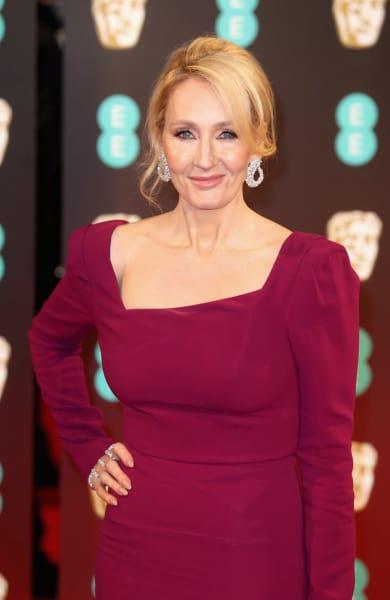 J.K. Rowling Pose