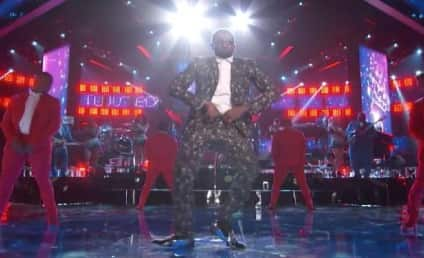 "Usher Gets ""Twisted"" on The Voice: Watch Now!"