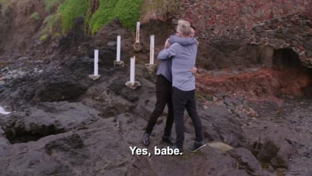 ¡El dijo que sí!