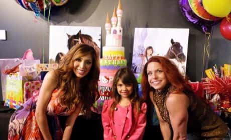 Sophia Abraham Celebrates Her 7th Birthday