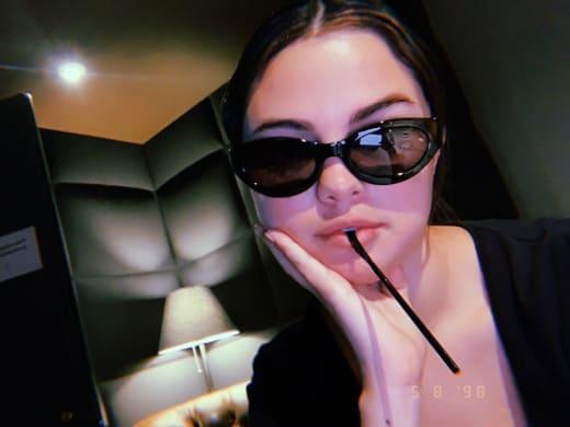 Selena Gomez, Sunglasses Selfie