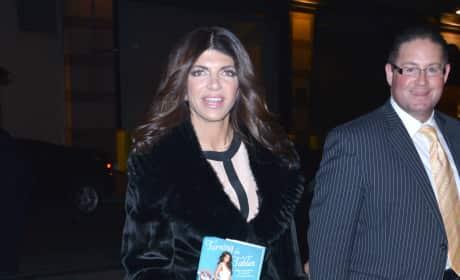Teresa Giudice Shows Off Her Book in New York
