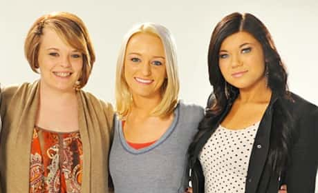 Catelynn Lowell, Maci Bookout and Amber Portwood