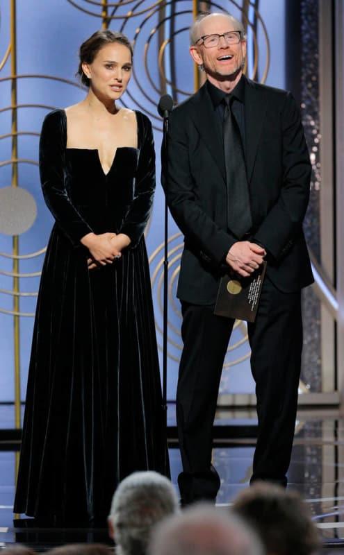 Natalie Portman Wore Black...