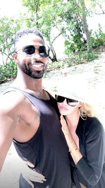 Khloe Kardashian and Tristan Go Away