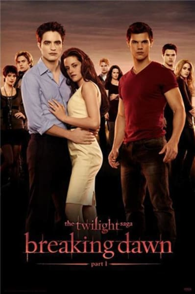 New Breaking Dawn Poster