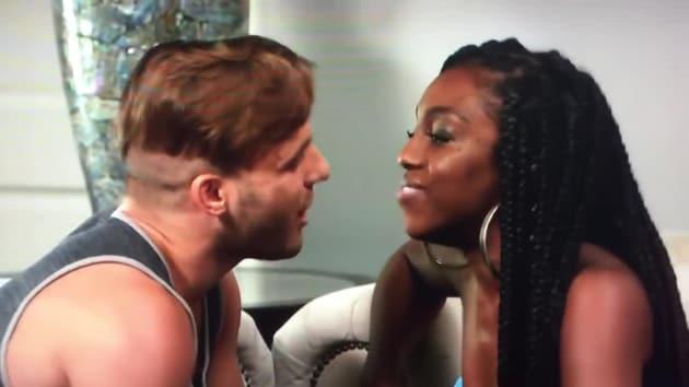 Paulie Calafiore Amp Da Vonne Rogers Fight On Big Brother