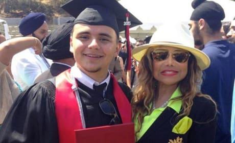 Prince Michael Jackson Graduates!