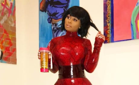 Blac Chyna in a Catsuit