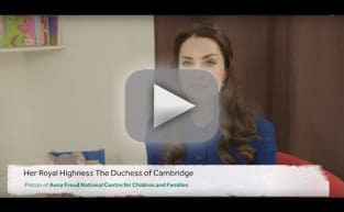 Kate Middleton Introduces Children's Mental Health Video Resource!