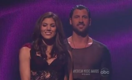 Hope Solo and Maksim Chmerkovskiy: Sore Dancing With the Stars Losers?