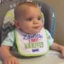 Samuel Dillard in his High Chair