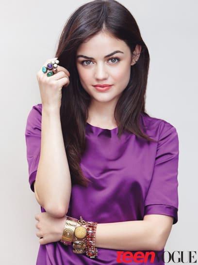 Lucy Hale in Teen Vogue