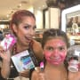 Farrah Abraham with Sophia at Sephora