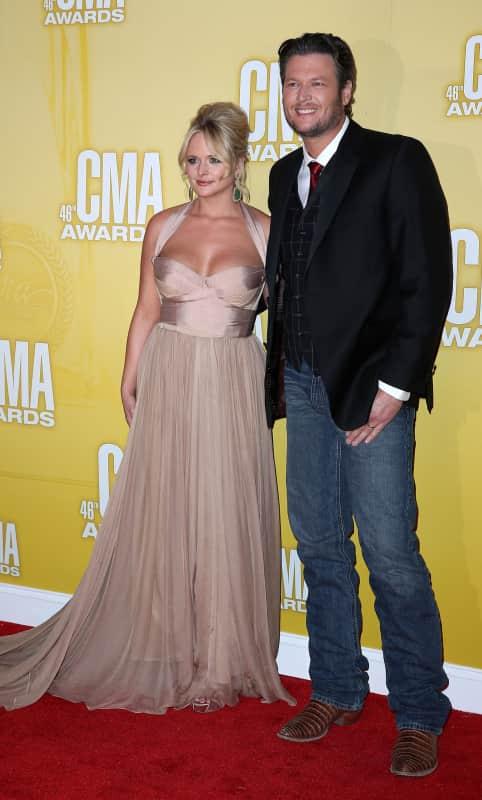 Miranda Lambert and Blake Shelton Photo