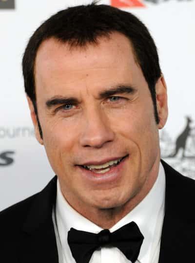 John Travolta Head Shot