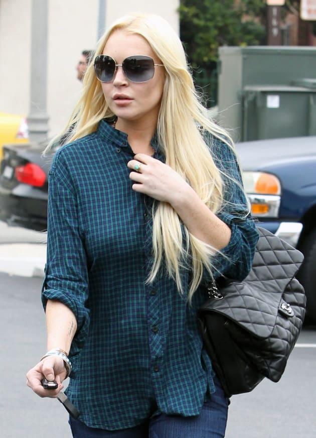 Cold Lindsay Lohan