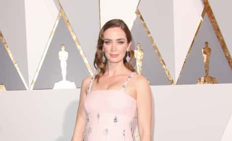 Emily Blunt at the 2016 Oscars