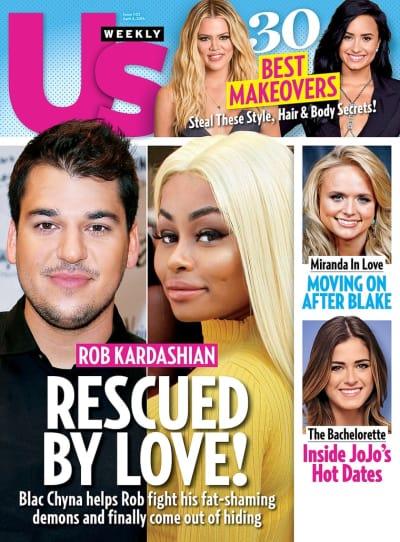 Rob Kardashian and Blac Chyna Cover