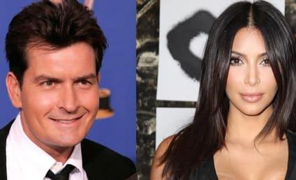 Charlie Sheen Apologizes to Kim Kardashian, Launches Much-Needed #ShutUpSheen Hashtag