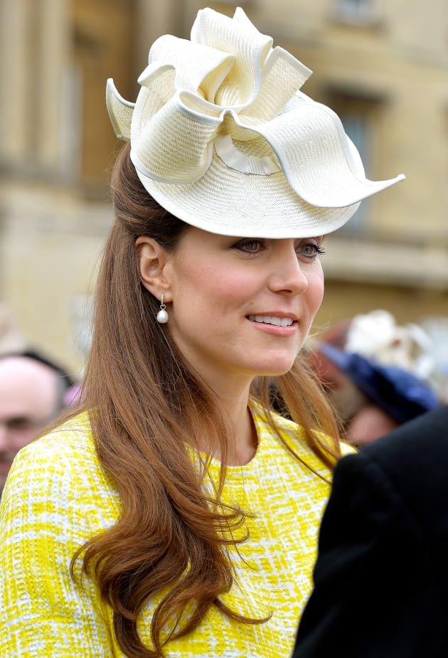 Kate Middleton Wearing a Hat